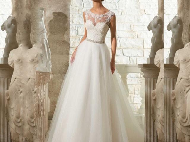 Lacné svadobné šaty pre nevestu