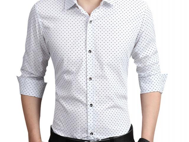 Ukážte svoju mužnosť v elegantnej košeli z ali-expressu.