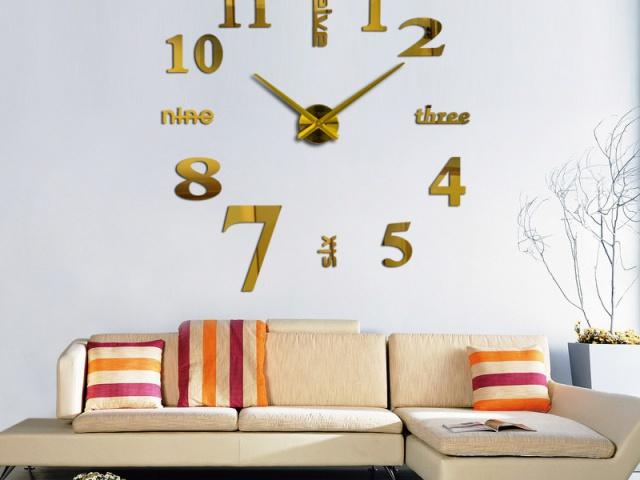 Moderné hodiny na stenu vašej obývačky  ktoré si zamilujete.