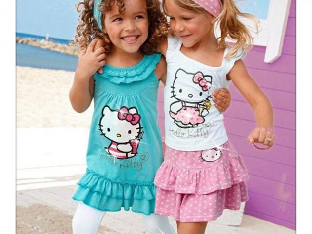 Trendy oblečenie a doplnky s motívom Hello Kitty pre malé slečny
