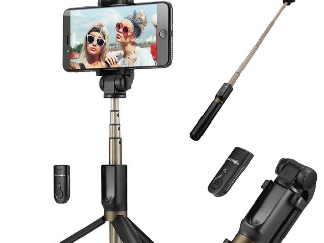 Spravte si bláznivé selfie spraktickou selfie tyčou len za 2,59 €