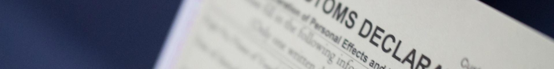 Elektronické colné prehlásenie na tovar z AliExpressu